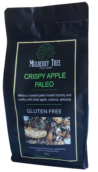 Mulberry Tree brand Crispy Apple Paleo